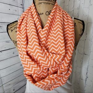 Accessories - Orange and white Infiniti scarf
